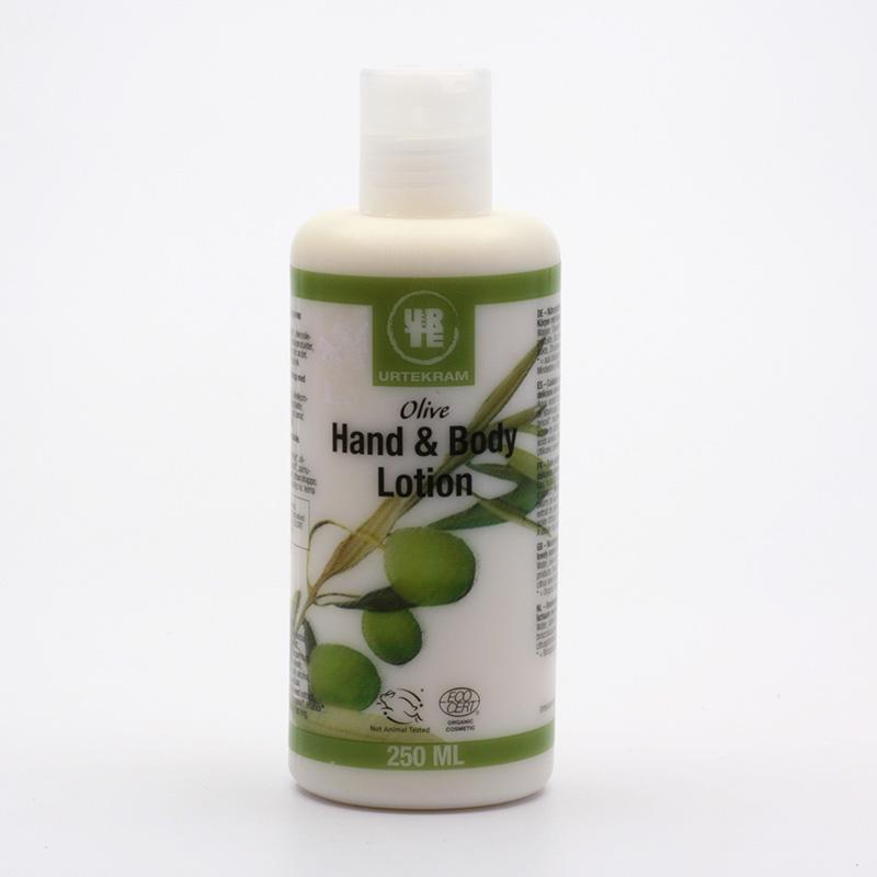 Urtekram Tělové mléko oliva 250 ml