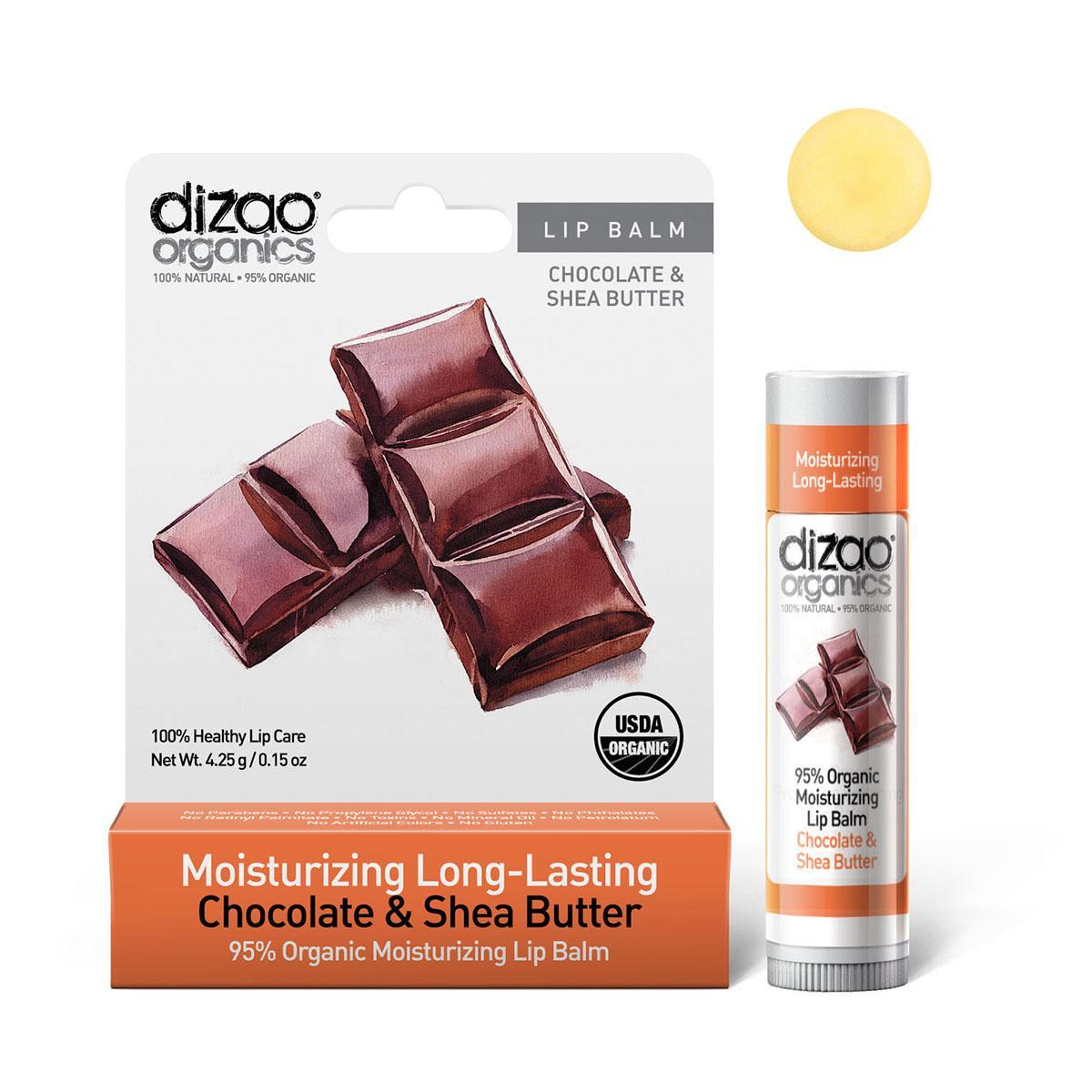 Dizao Balzám na rty zvláčňující s čokoládou 4,25 g