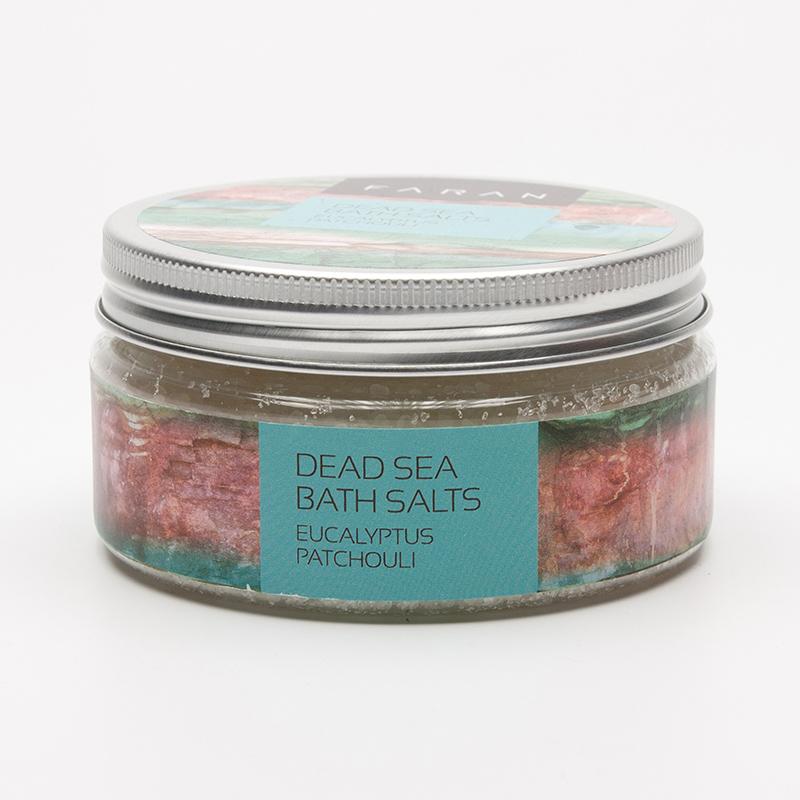 Faran Koupelová sůl Mrtvé moře Eucalyptus/Patchouli 200 ml