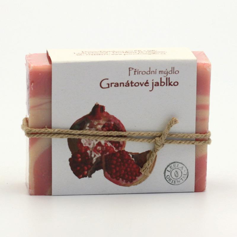 Přírodní mýdlo Mýdlo granátové jablko 100 g