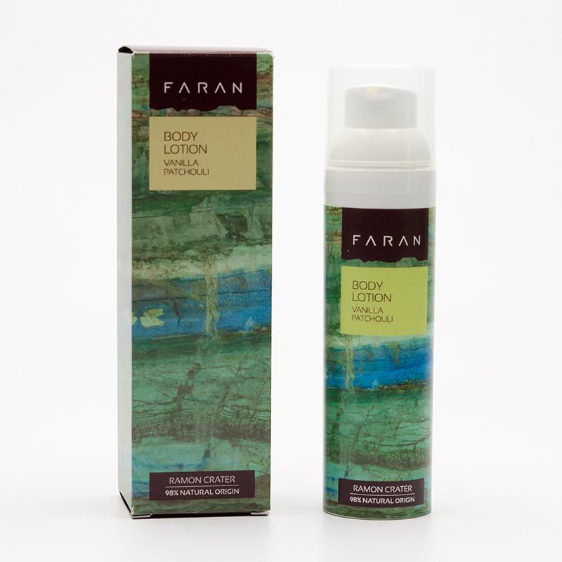 Faran Tělové mléko Vanilla & Patchouli 75 ml