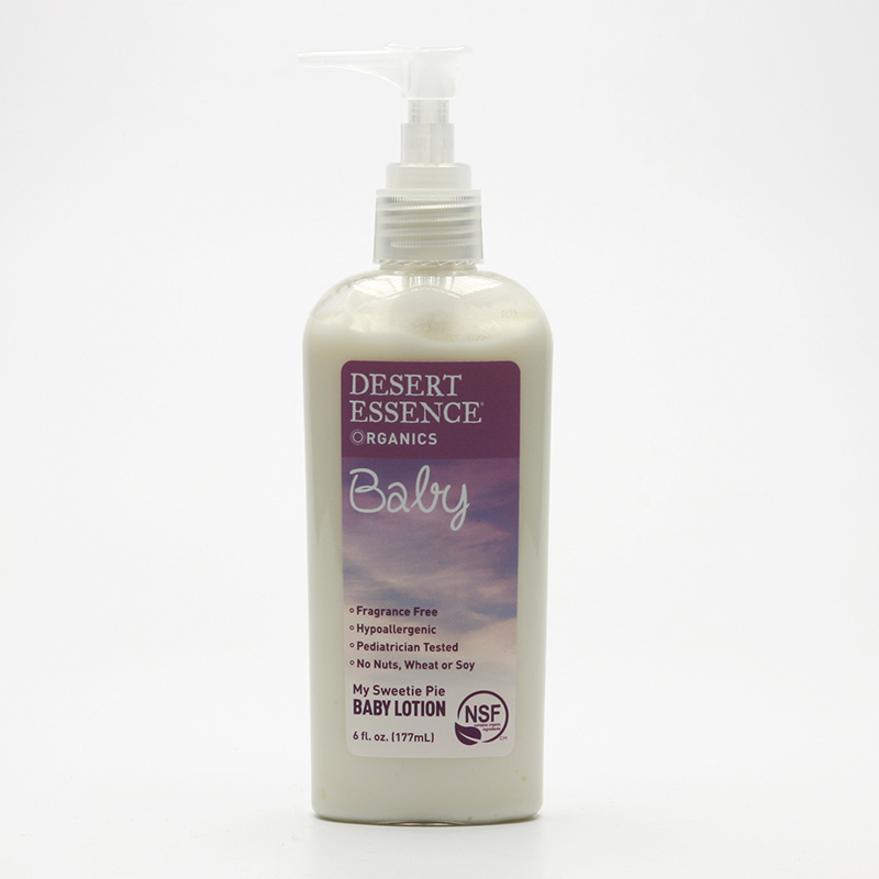 Desert Essence Dětské tělové mléko, baby care 177 ml