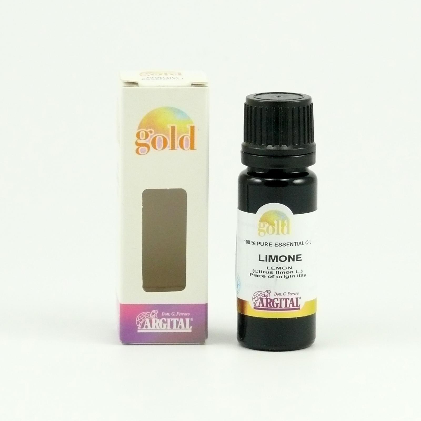 Argital Citron, Gold 10 ml