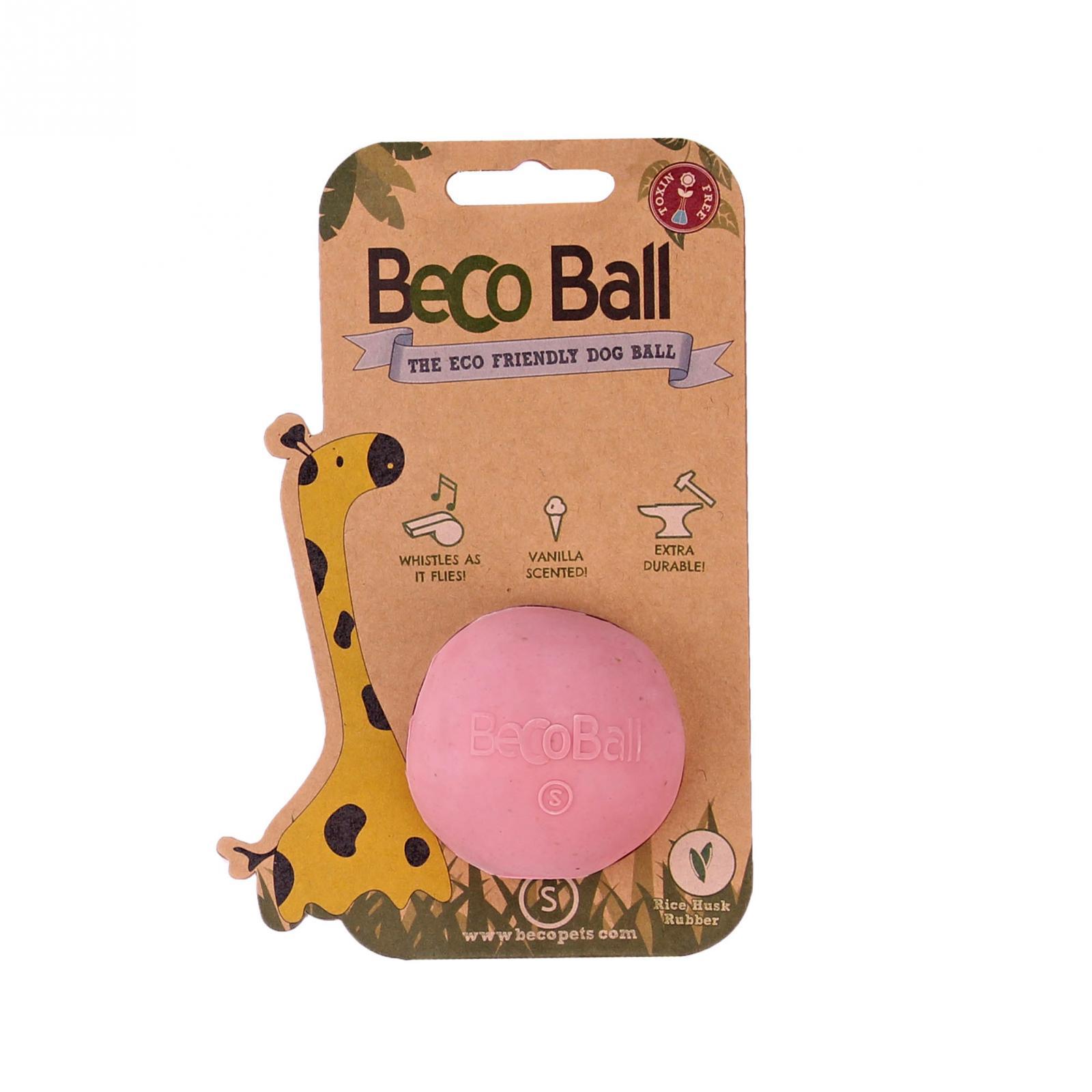 Beco Pets Beco Ball Small 1 ks, růžová
