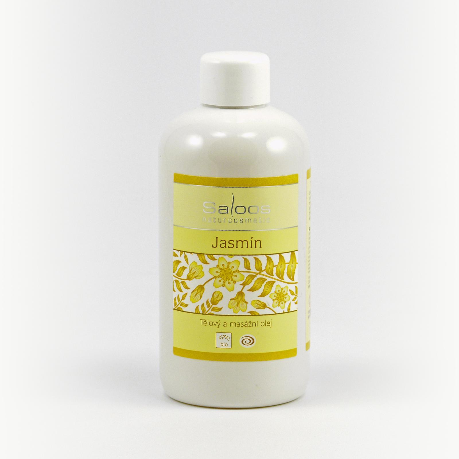 Saloos Masážní olej jasmín 250 ml
