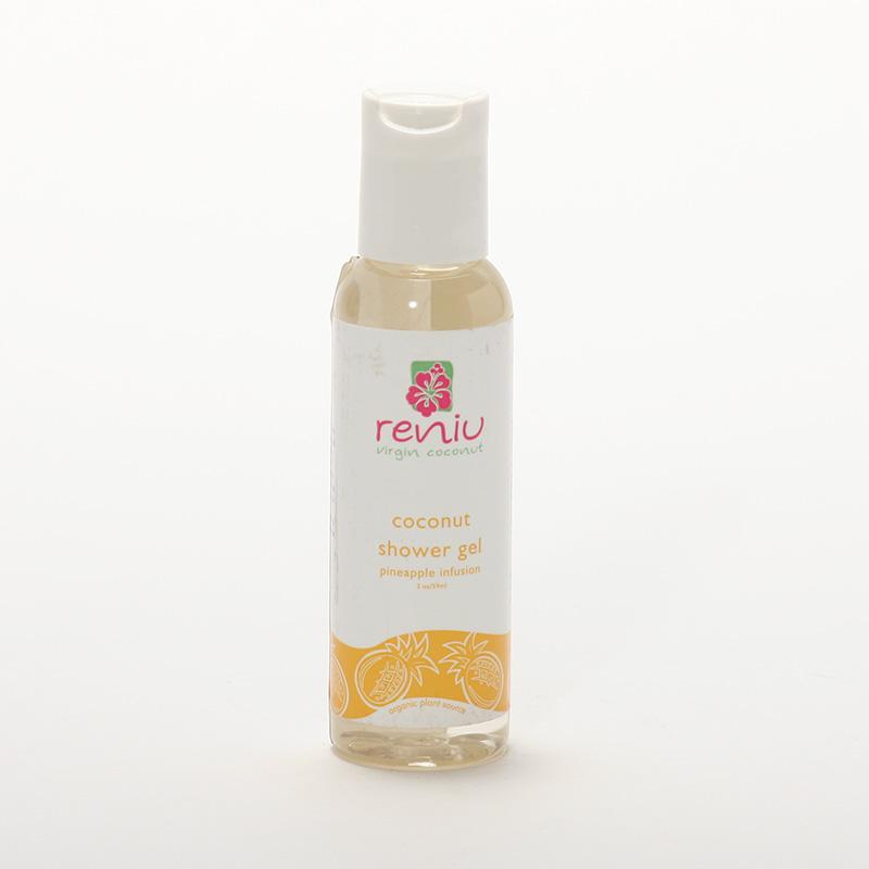 Reniu Fiji Sprchový gel z kokosového mléka, ananas 59 ml