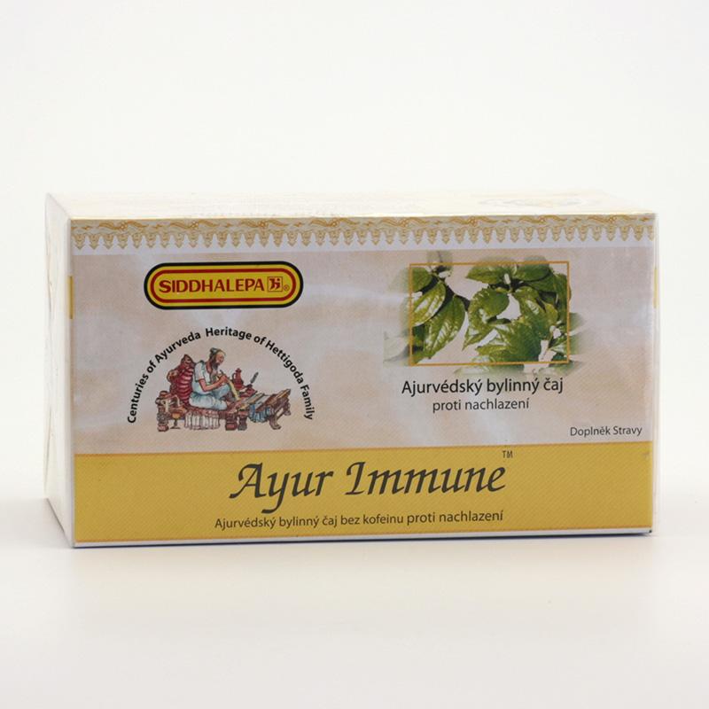 Siddhalepa Ayur Immune, čaj proti nachlazení 40 g, 20 ks