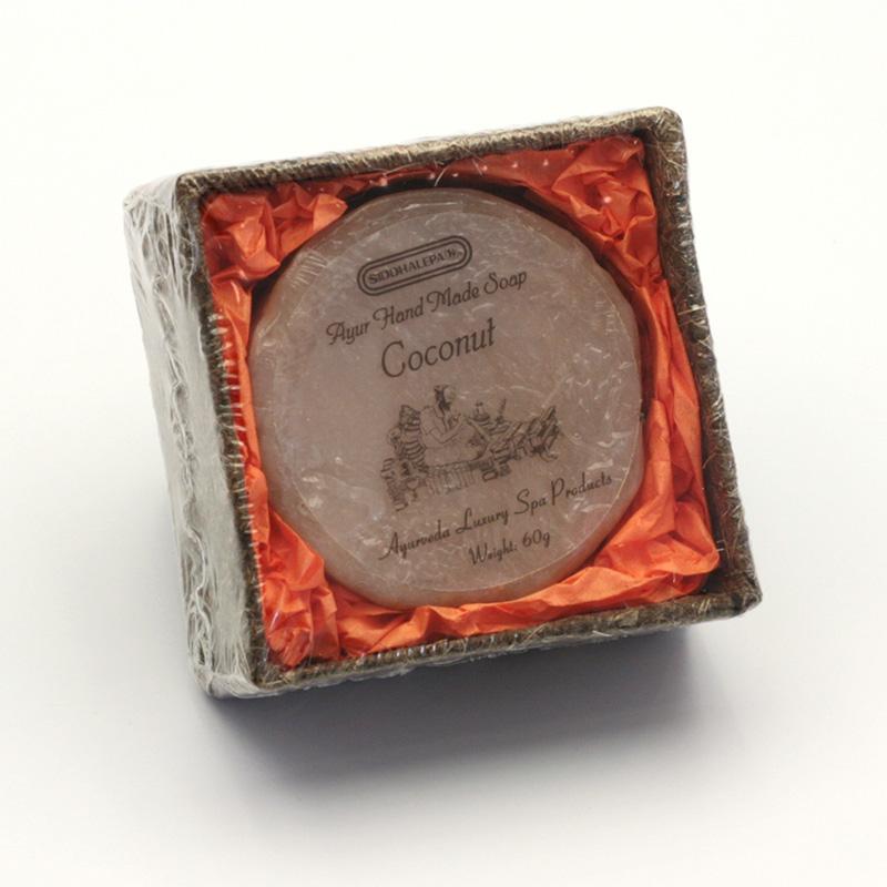 Siddhalepa Mýdlo Coconut, Ayurveda Luxury Spa 60 g