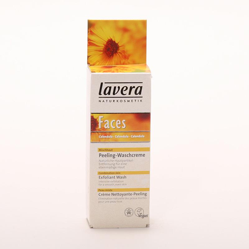 Lavera xxPeeling čistící měsíček, Faces 30 ml