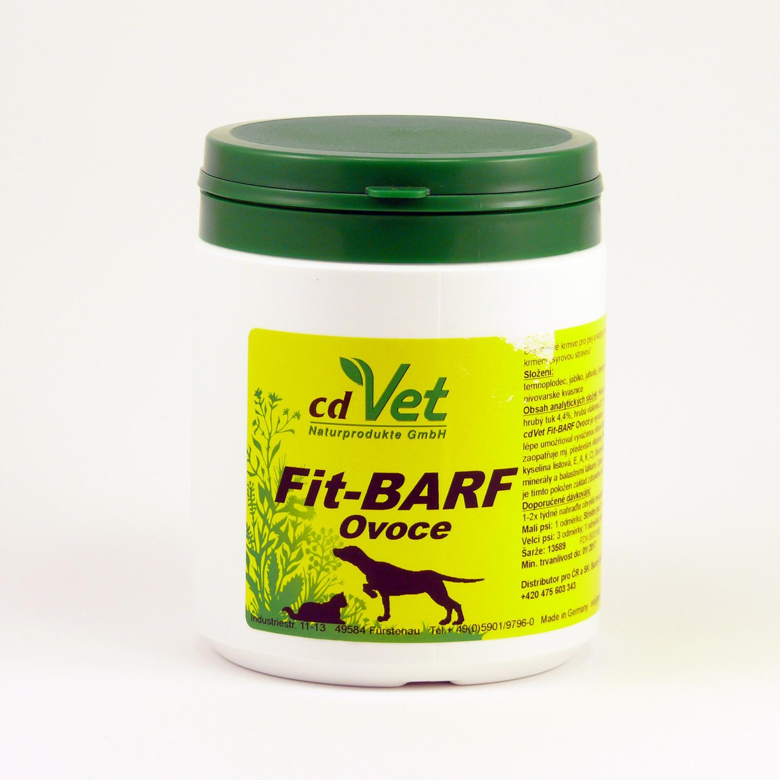 CdVet Doplněk výživy pro psy a kočky Fit Barf Ovoce 350 g