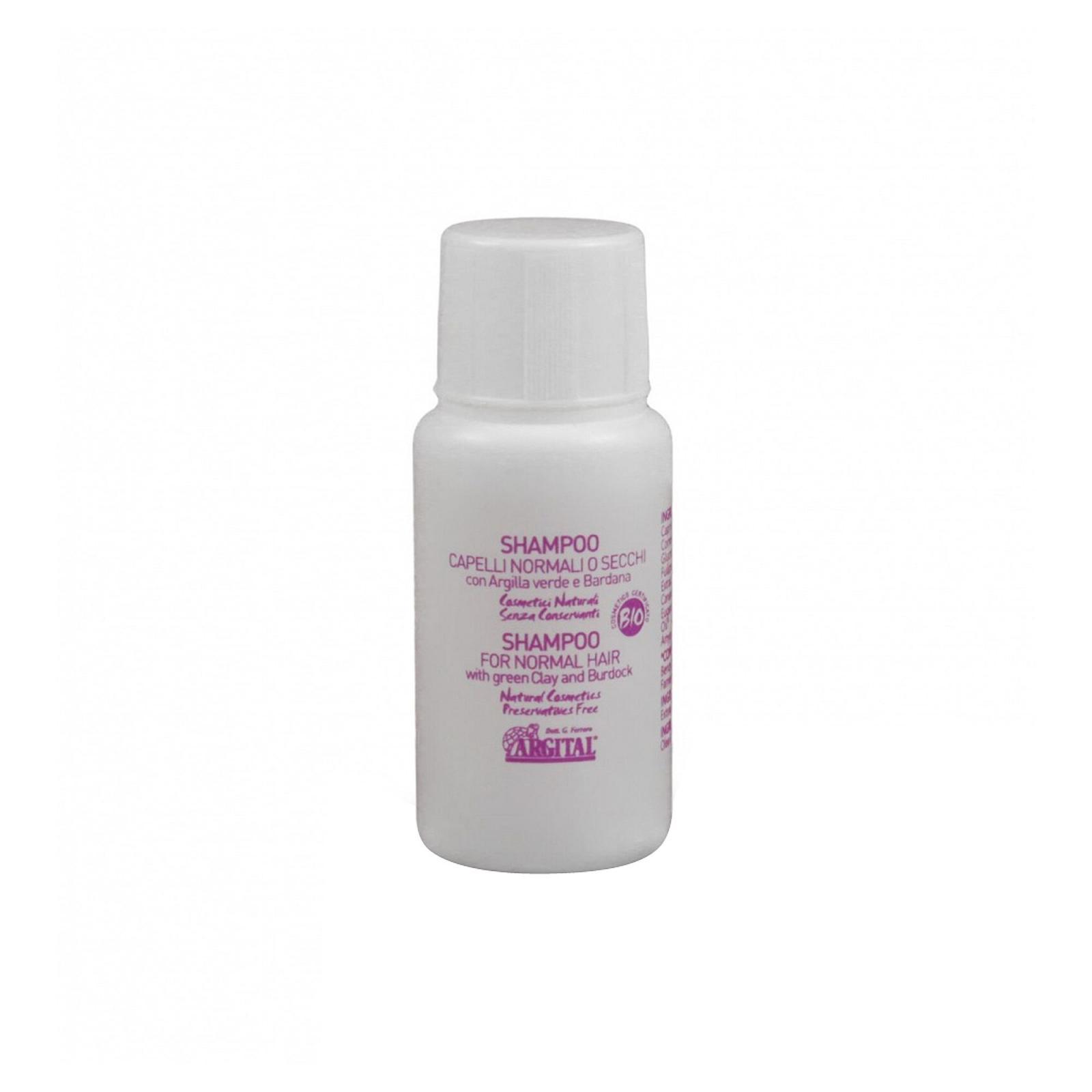 Argital Šampon na normální a suché vlasy s lopuchový kořenem 20 ml