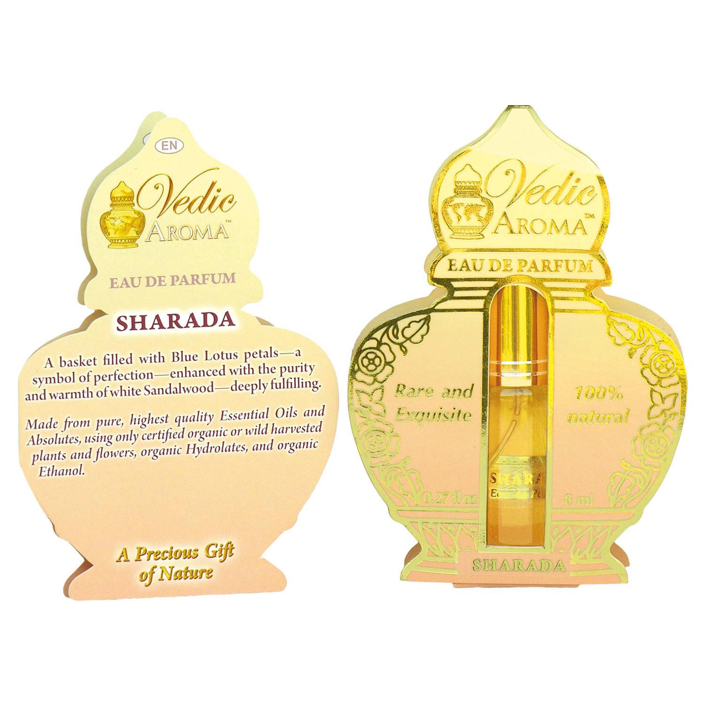 Vedic Aroma Ayurvédská parfémová voda Sharada 8 ml, sprej
