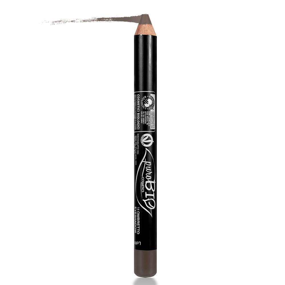 puroBIO cosmetics Oční stíny v tužce 14 Brown 2,3 g