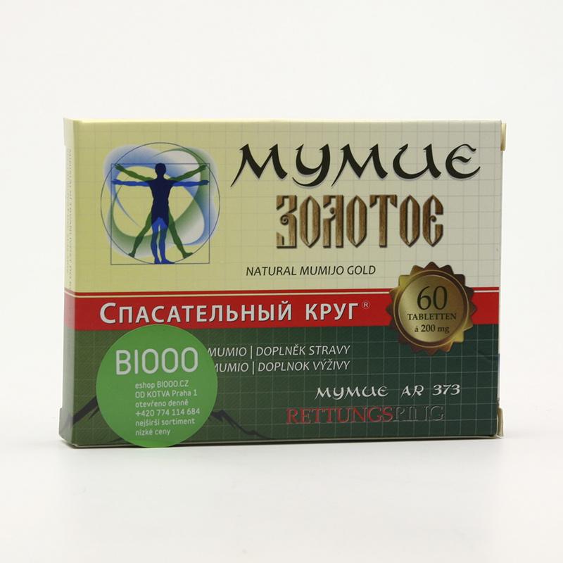 ostatní Zlaté mumio altajské čisté 60 tablet