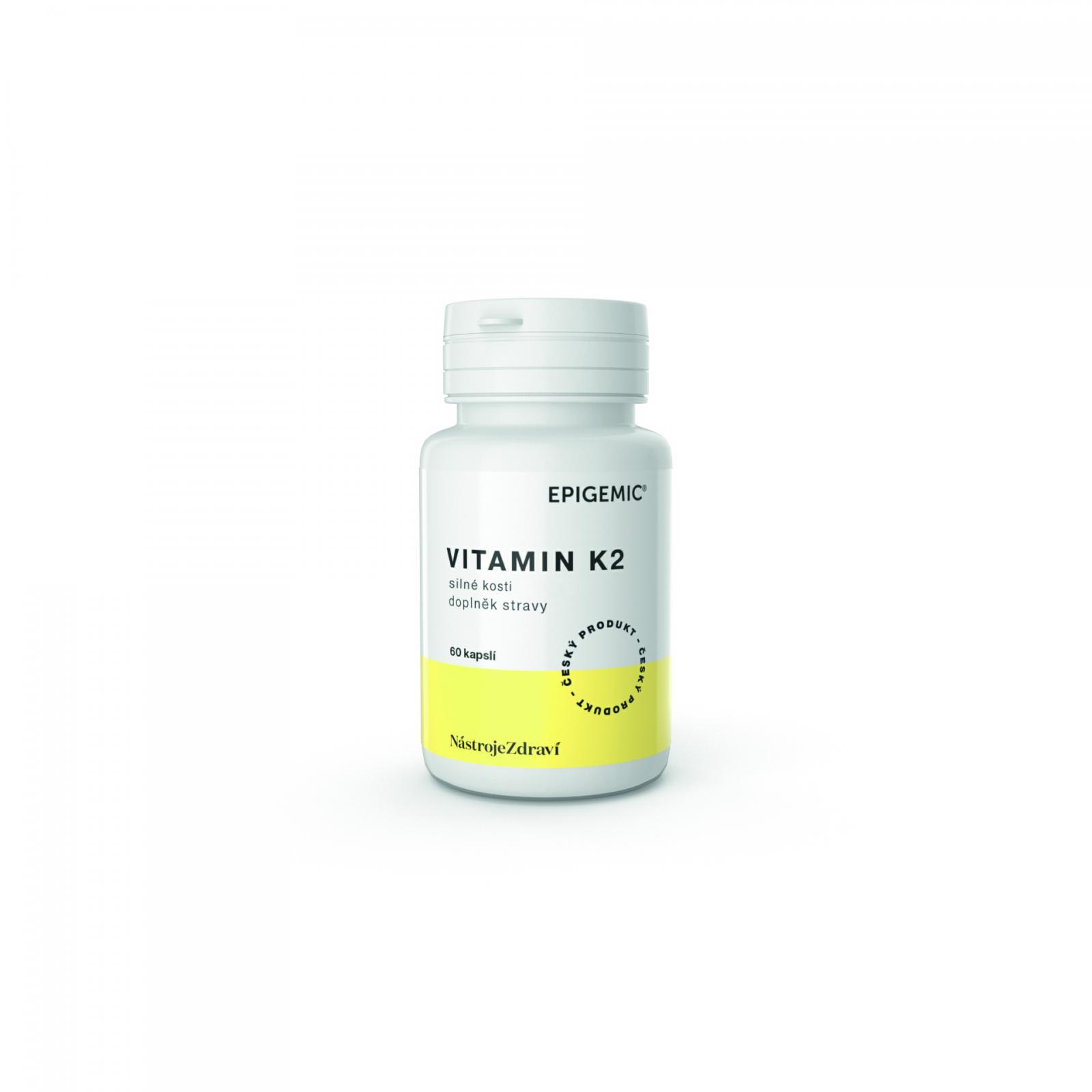Epigemic Vitamin K2, kapsle 15 g, 60 ks