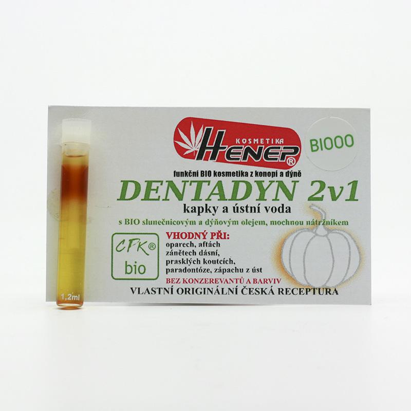 Henep Dentální kapky Dentadyn 2v1 1,2 ml
