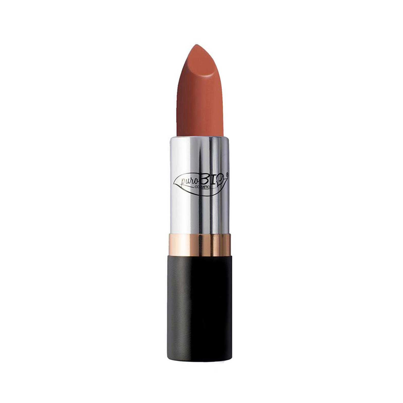 puroBIO cosmetics Rtěnka 01 Peach 3,5 g