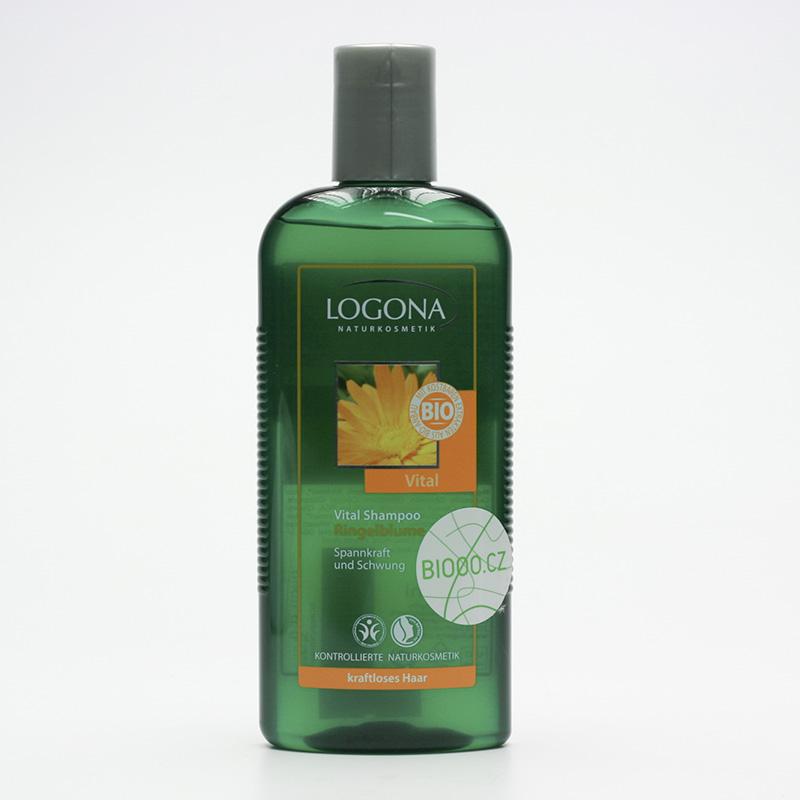 Logona Šampon vitalizační po slabé vlasy měsíček 250 ml
