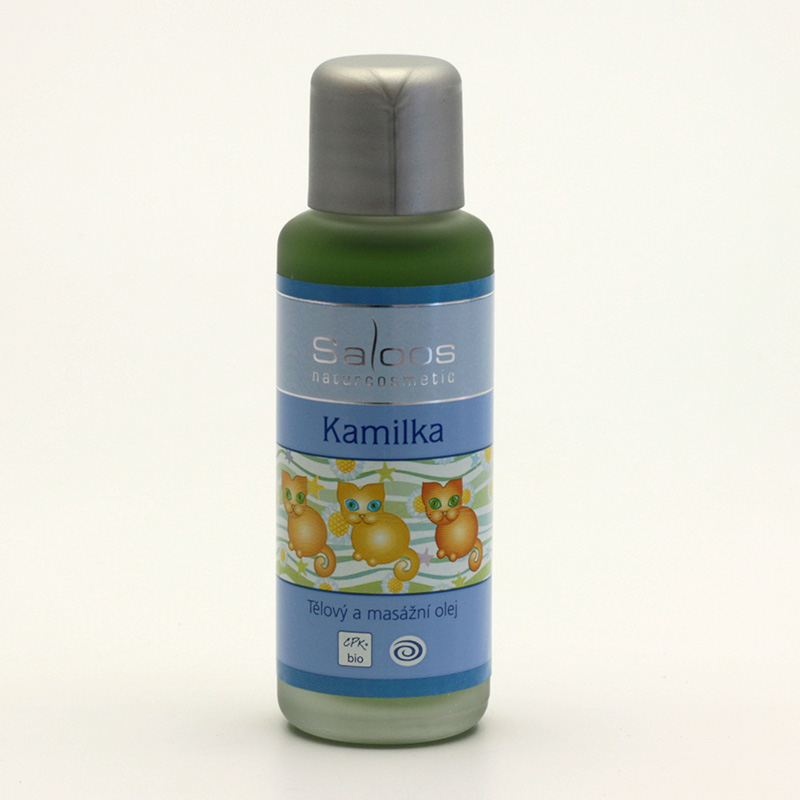 Saloos xxxVýprodej Masážní olej kamilka 50 ml