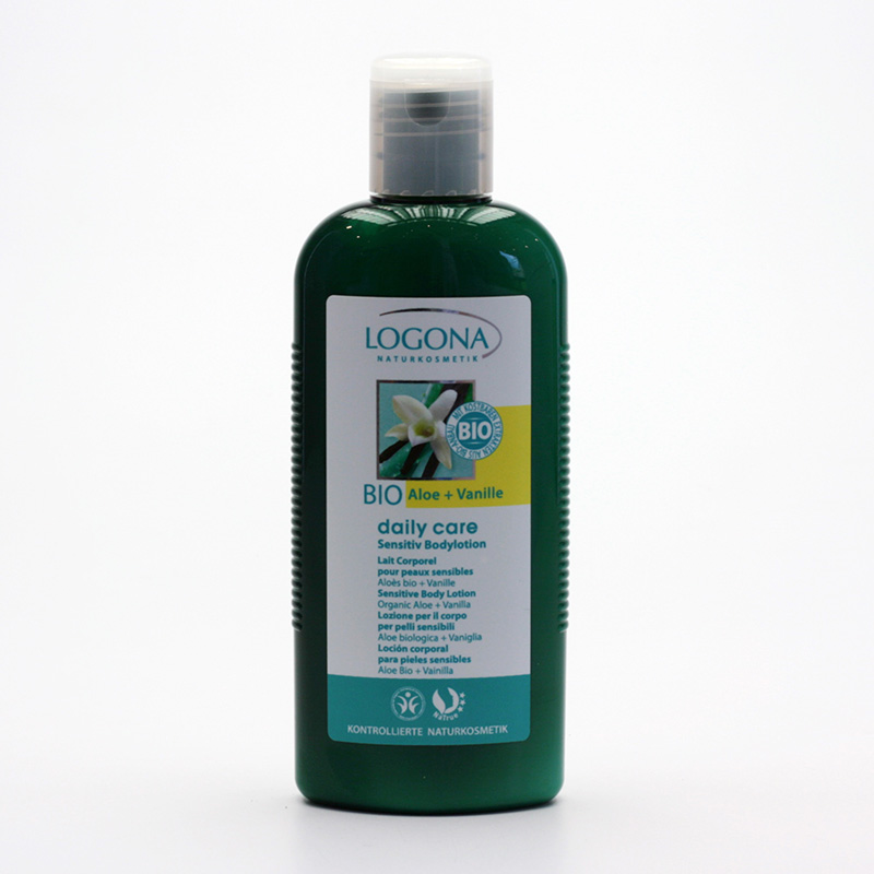 Logona Tělové mléko aloe a vanilka, Daily Care Sensitive - vyřazen 200 ml