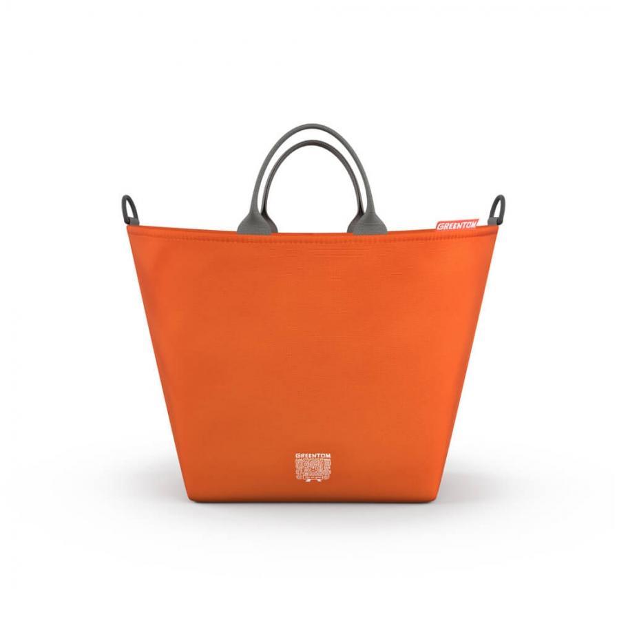 GreenTom Nákupní taška 1 ks, oranžová
