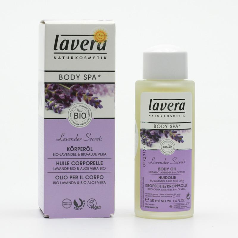 Lavera Tělový olej levandule a aloe vera, Body Spa 50 ml