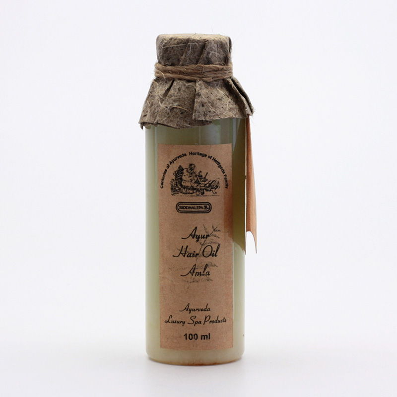 Siddhalepa Vlasový olej Amla, Ayurveda Luxury Spa 100 ml