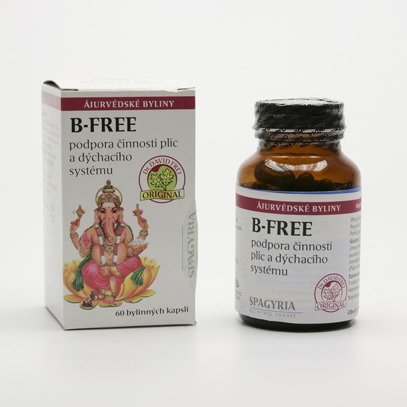 Organic India B-free 60 kapslí
