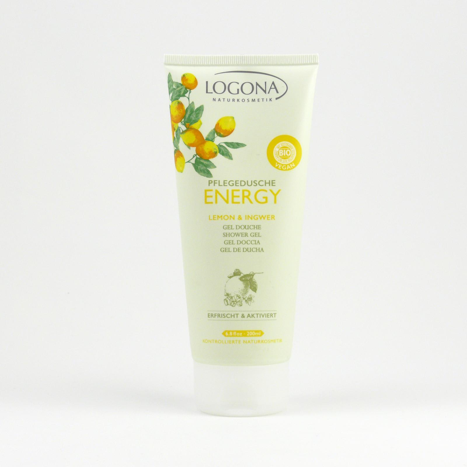 Logona Sprchový gel citron a zázvor, Energy 200 ml