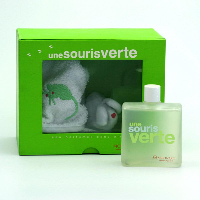 Molinard Dětská toaletní voda Une Souris Verte bez alkoholu 100 ml
