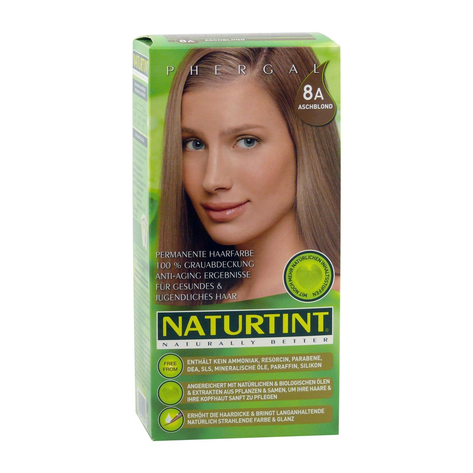 Naturtint Barva na vlasy 8A popelavá blond 165 ml