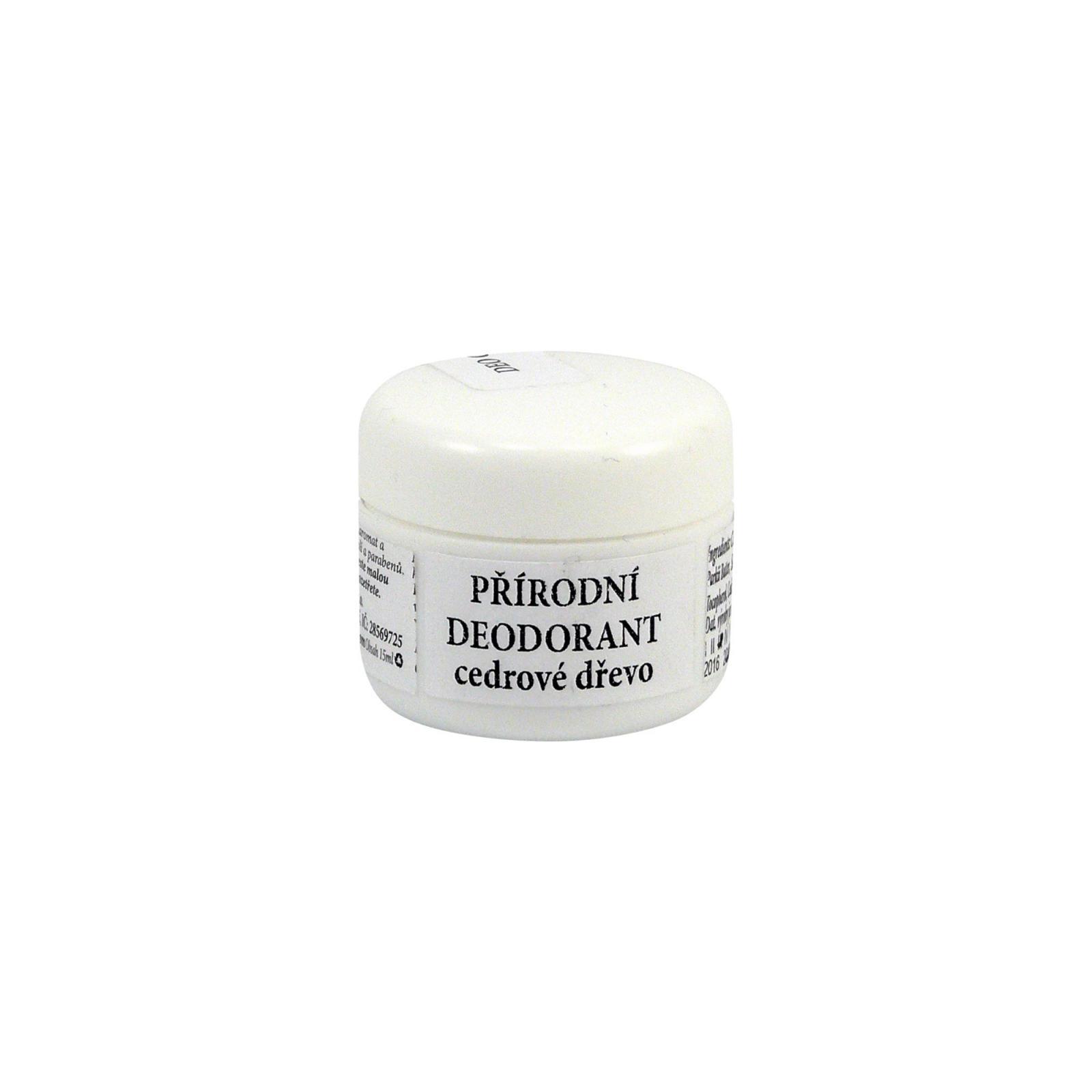RaE Přírodní krémový deodorant s vůní cedrového dřeva 15 ml náplň