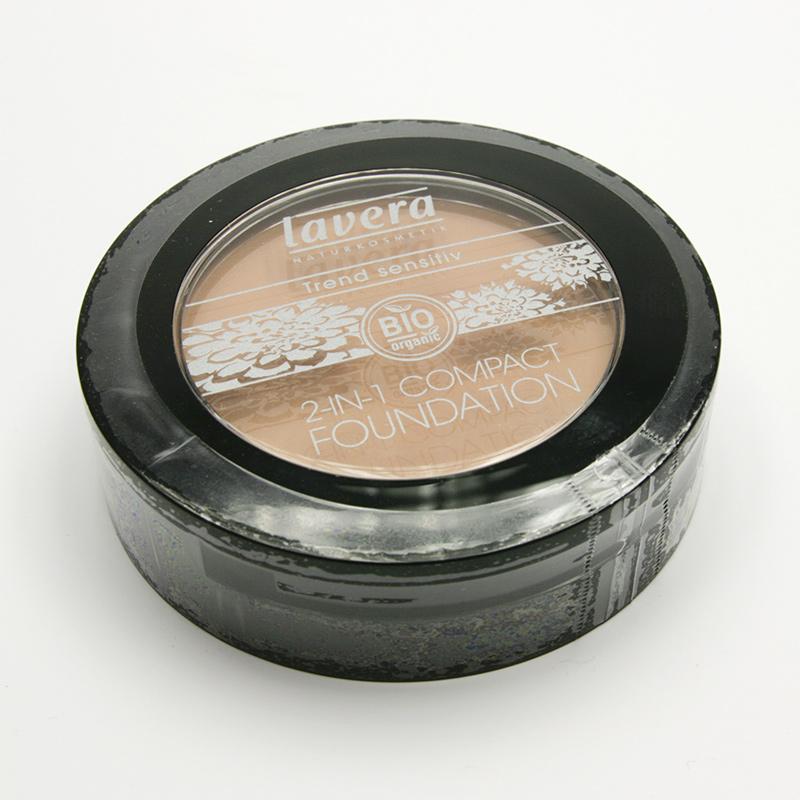 Lavera Make-up pudrový 2v1 01 béžová, Trend Sensitiv 10 g