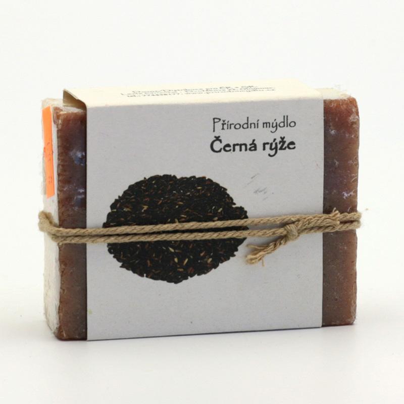 Přírodní mýdlo Mýdlo černá rýže 100 g