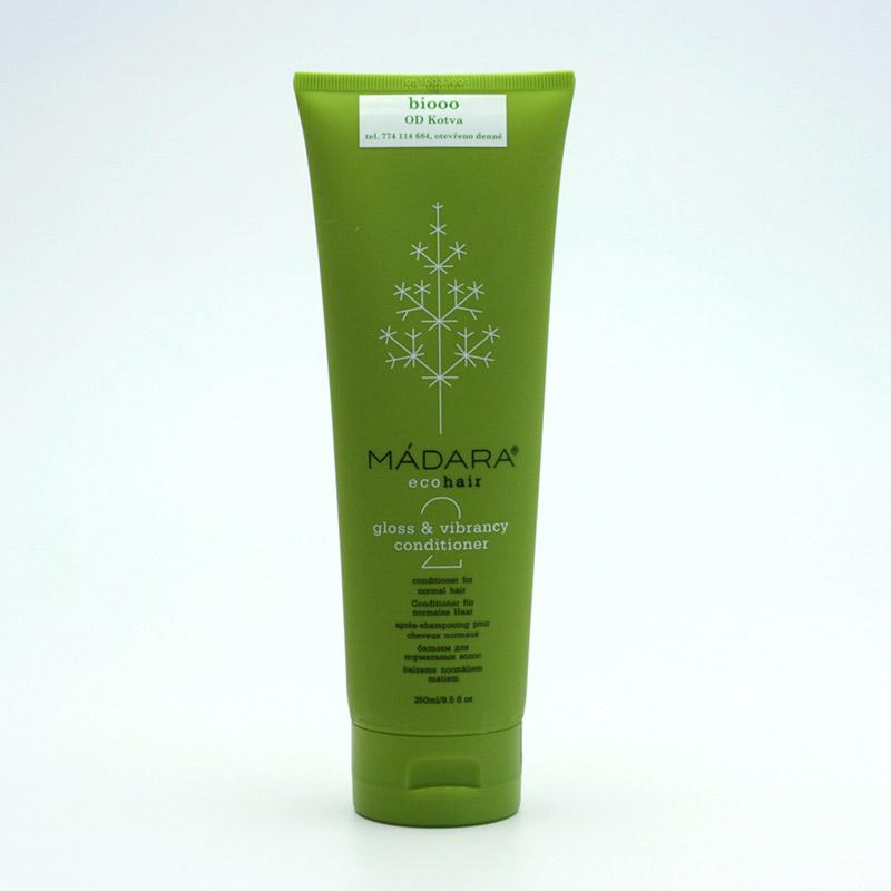 Mádara x Kondicionér pro normální vlasy, gloss and vibrancy 250 ml