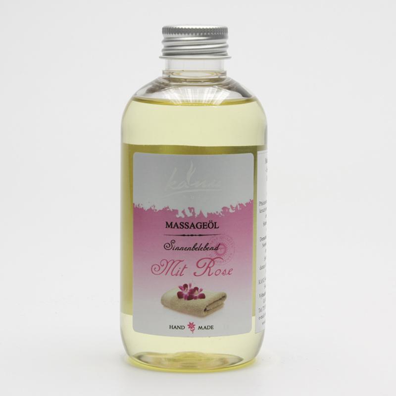 Kanu  ZRUŠENO Masážní olej růže 200 ml