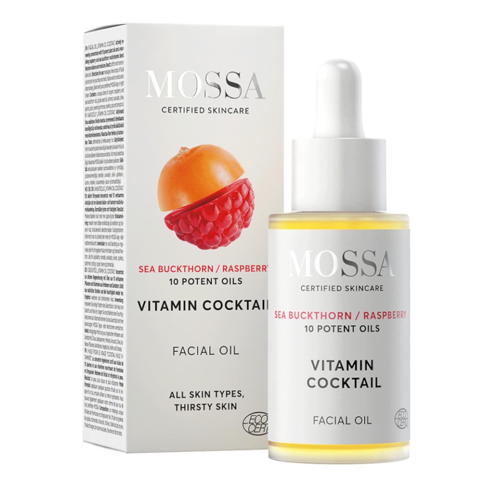 Mossa Pleťový olej Vitamínový koktejl 30 ml