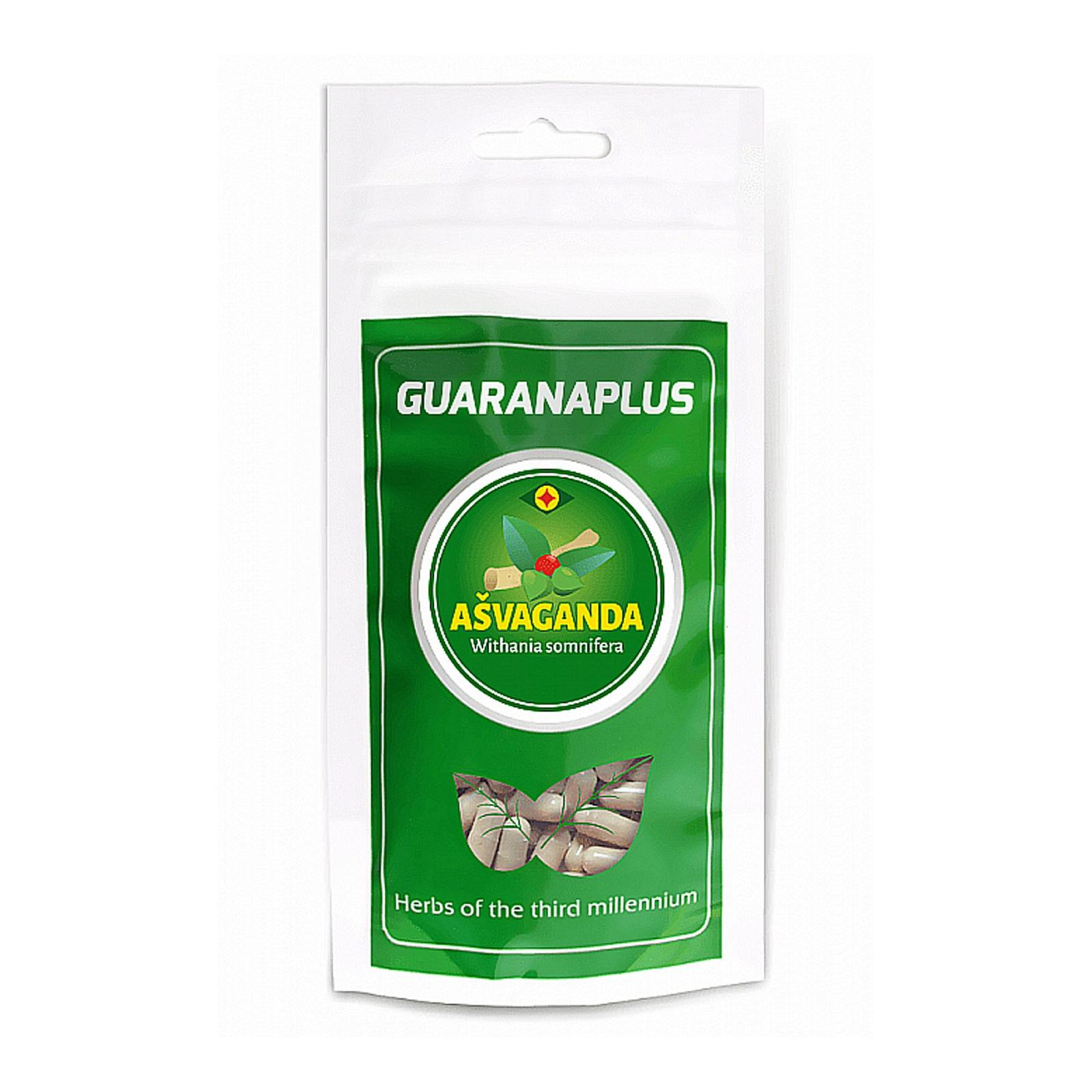 Guaranaplus Ašvaganda, kapsle 100 ks