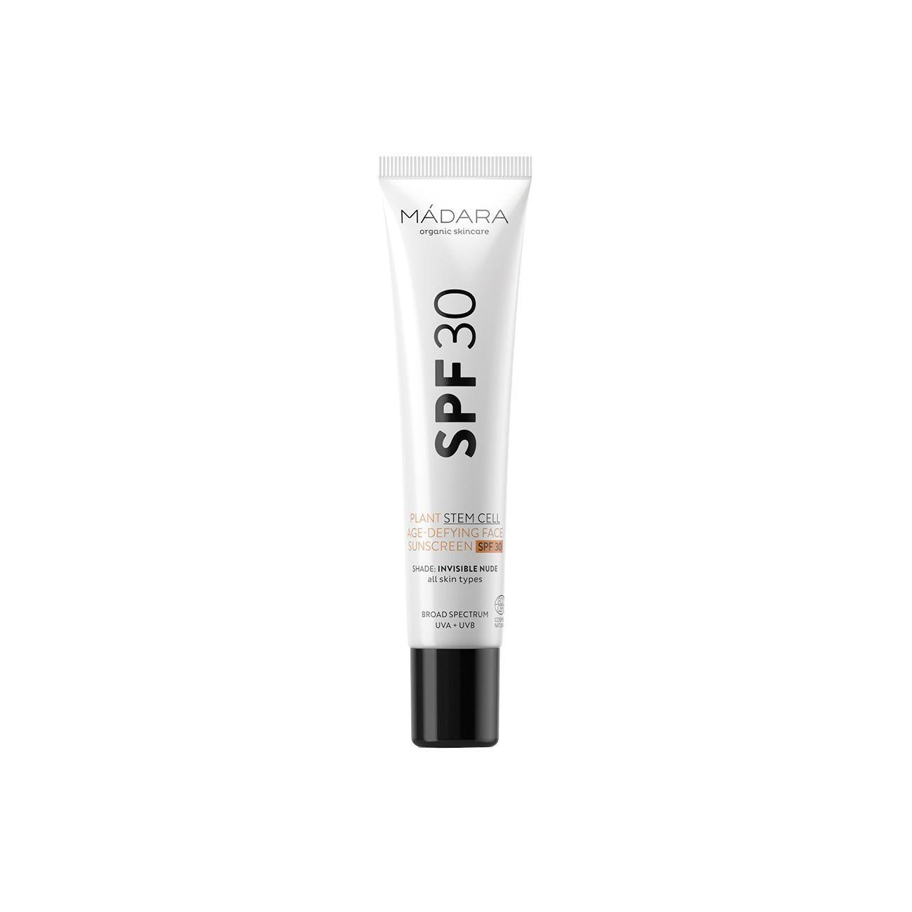 MÁDARA Opalovací krém na obličej SPF 30 s anti-age efektem 40 ml