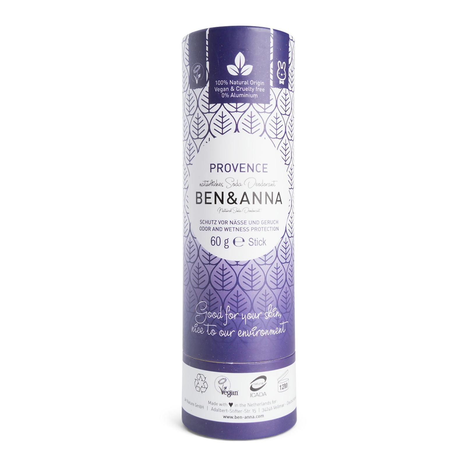 Ben & Anna Tuhý deodorant Provence 60 g, papírový obal