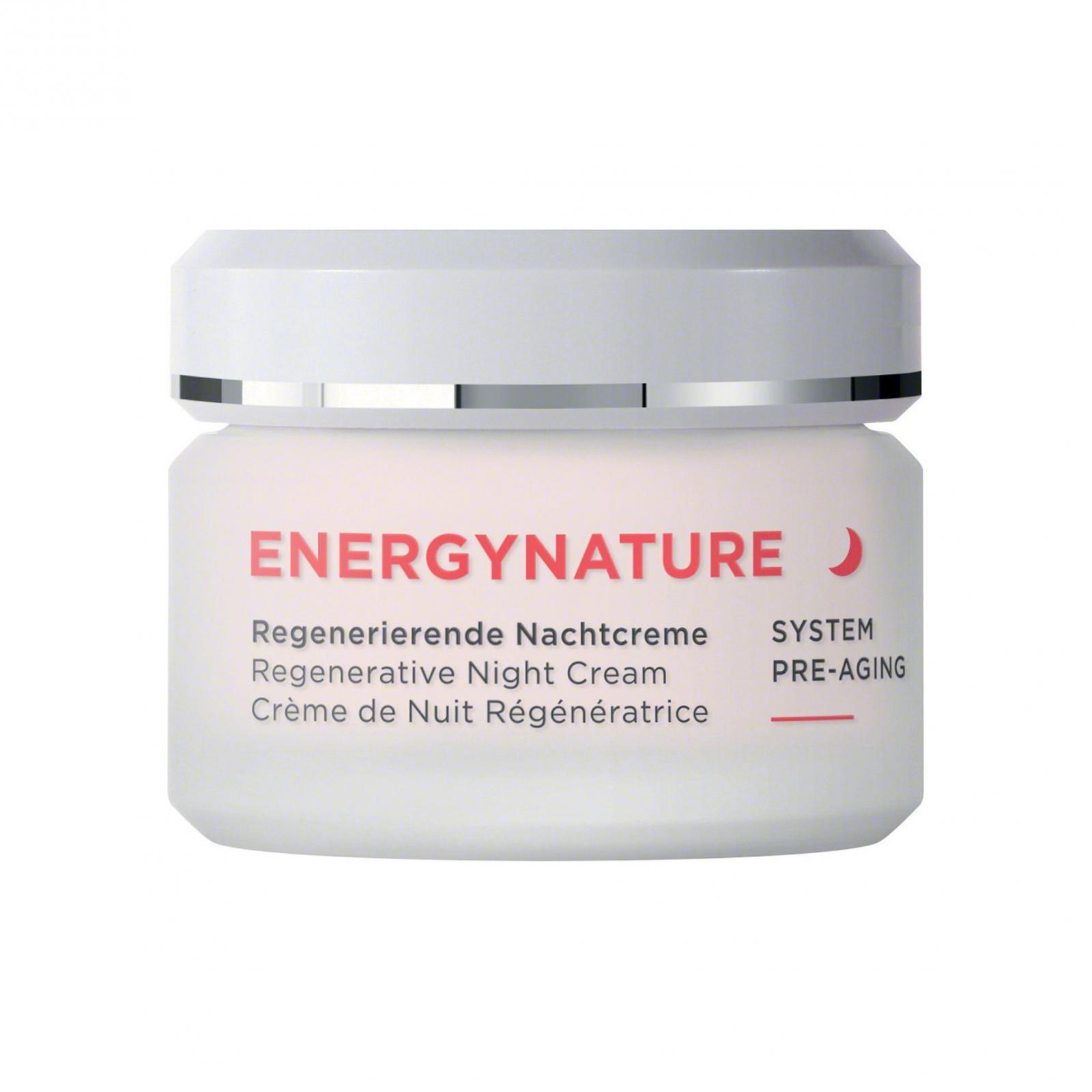 Annemarie Börlind Regenerační noční krém, Energynature 50 ml