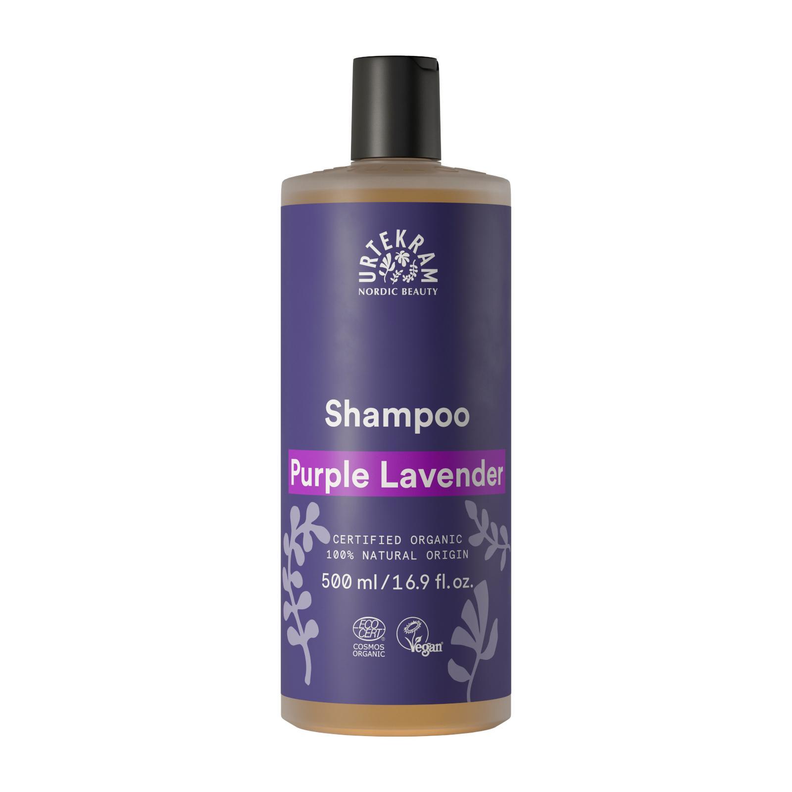 Urtekram Šampon levandulový, Purple Lavender 500 ml