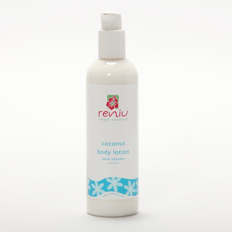 Reniu Fiji Tělové mléko, gardénie 354 ml