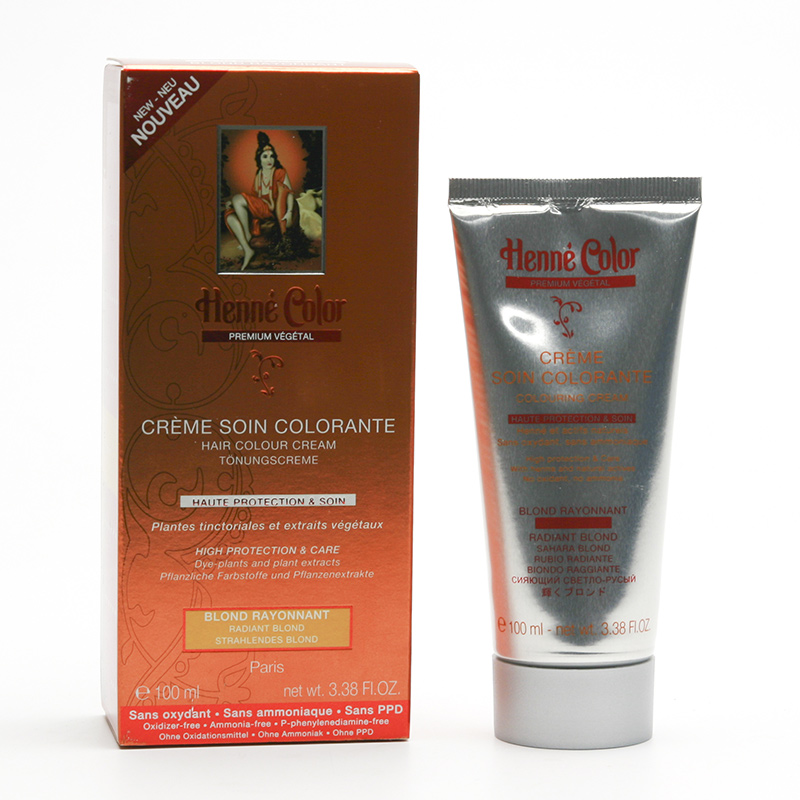 Henné Color Přeliv henna Zlatá blond, Premium Végétal 100 ml