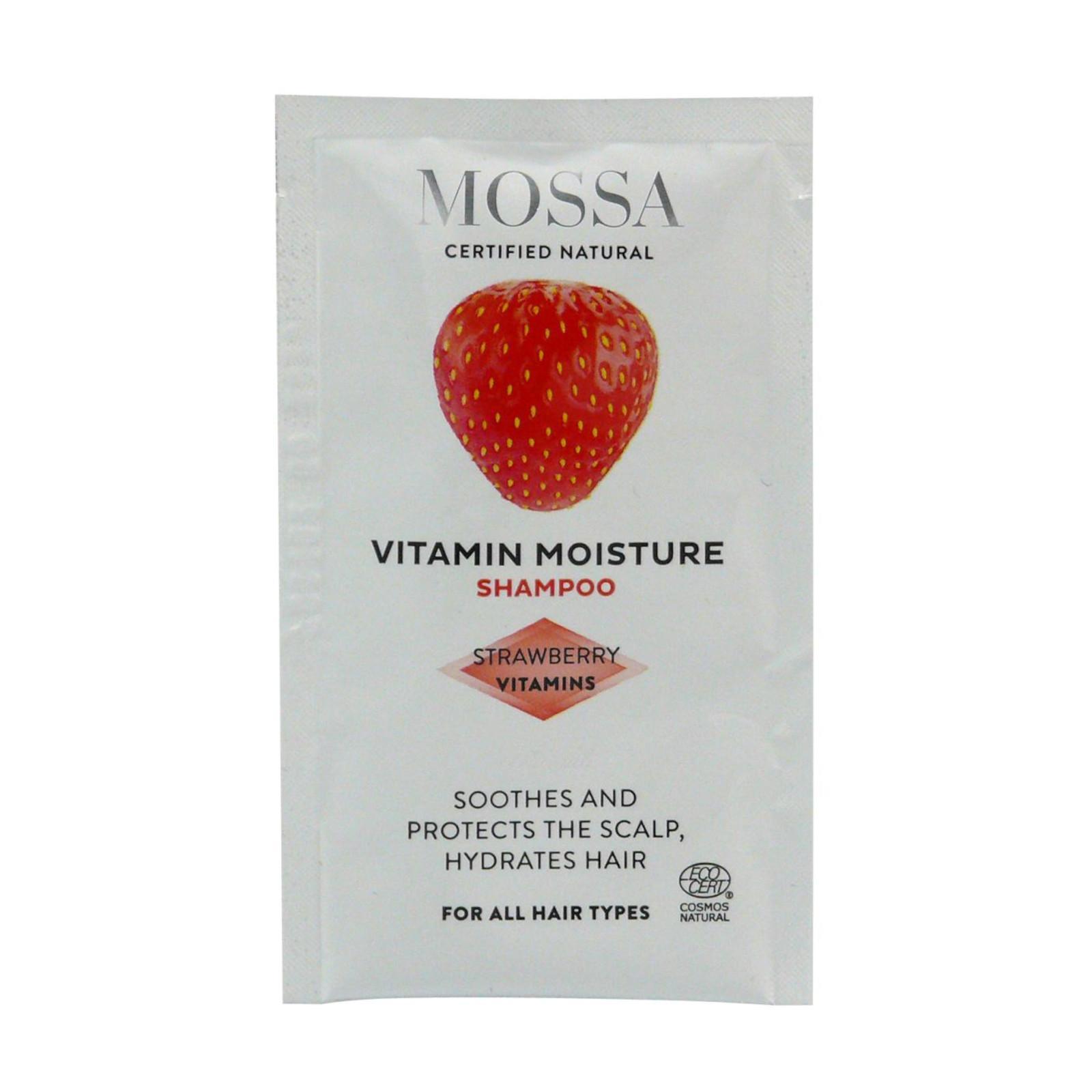 MOSSA Hydratační šampon 10 ml