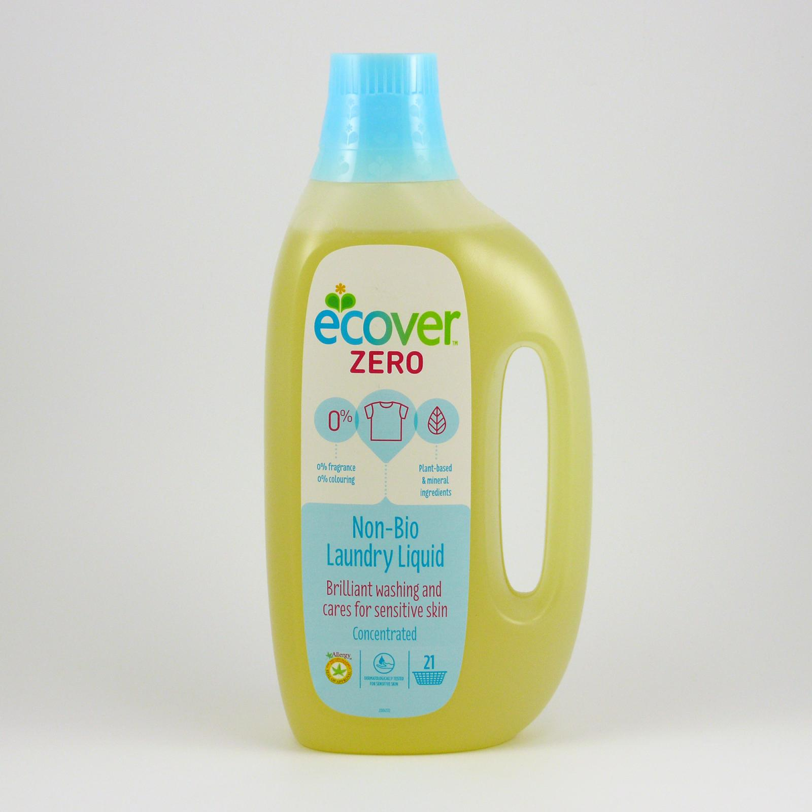 Ecover Tekutý prostředek na praní ZERO bez parfemace 1,5 l