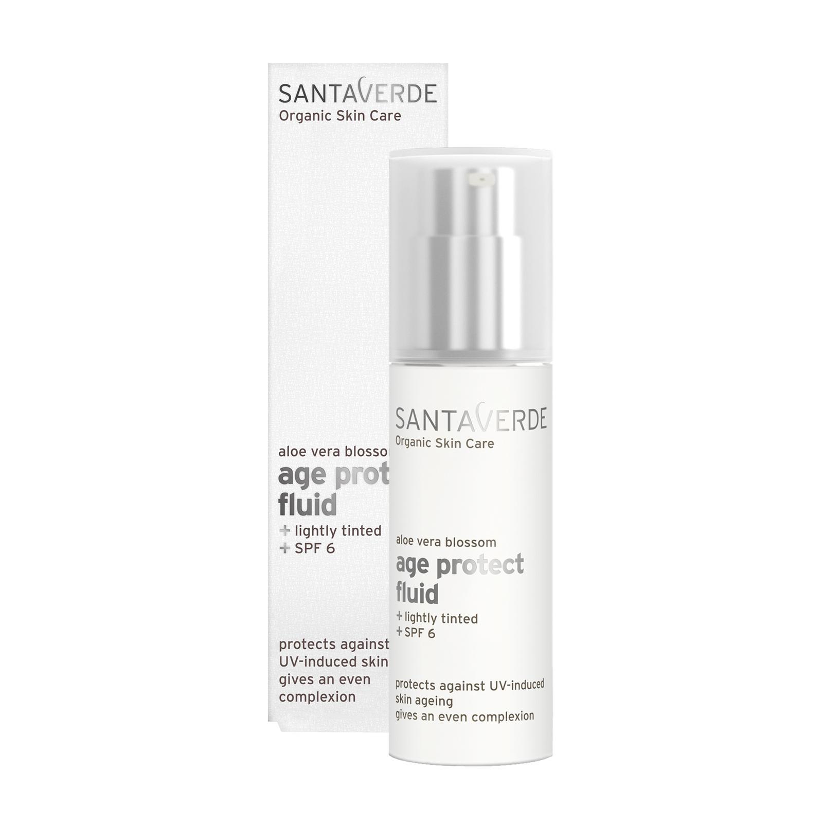 Santaverde Ochranný fluid SPF 6, age protect 30 ml