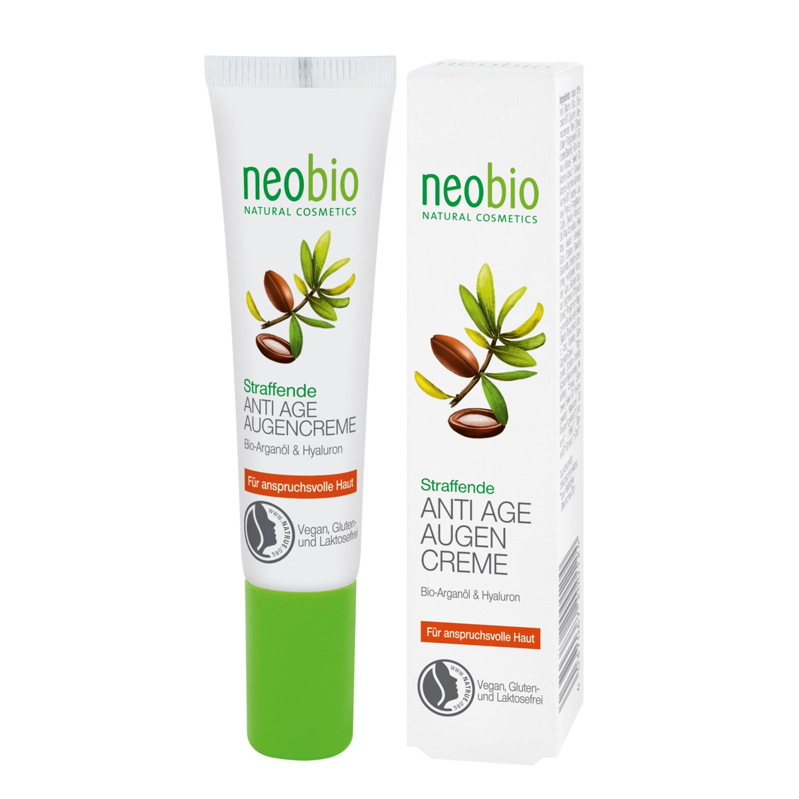 Neobio Anti-age oční krém 15 ml