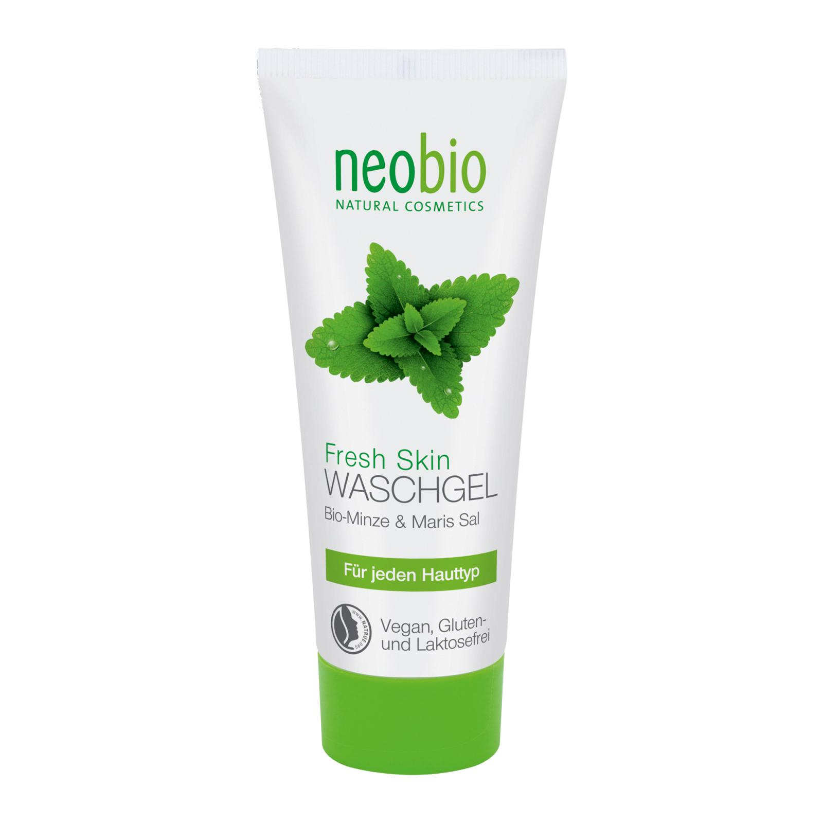 Neobio Čisticí pleťový gel, Fresh Skin 100 ml