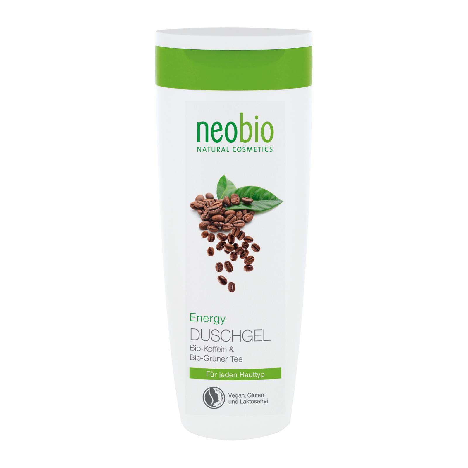 Neobio Sprchový gel Energy 250 ml